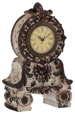 Fantastic Ceramic Table Clock traditional-desk-and-mantel-clocks