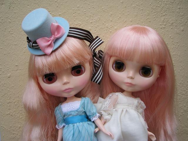 Coco Collette and Stella Savannah by rain-b, via Flickr