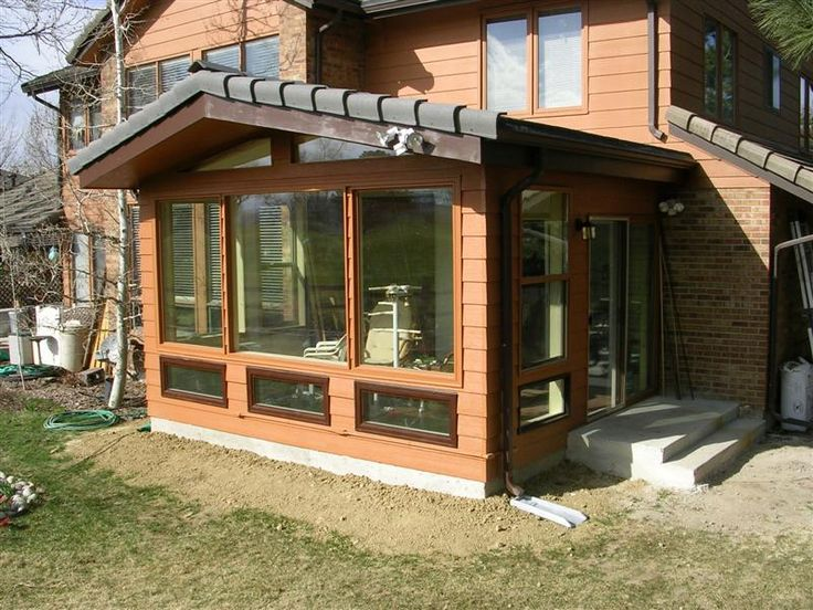64 best images about sunroom roofline on pinterest for Solarium room additions