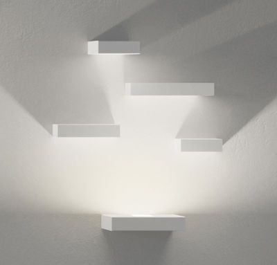 Applique Set LED / Set 5 modules Blanc - Vibia - Décoration et mobilier design avec Made in Design