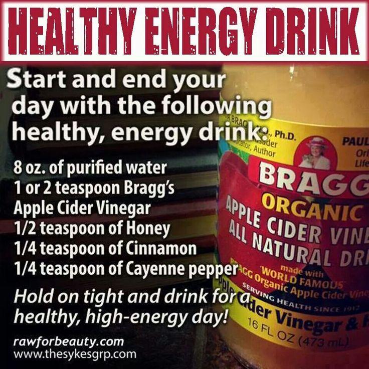 Heart health energy drink