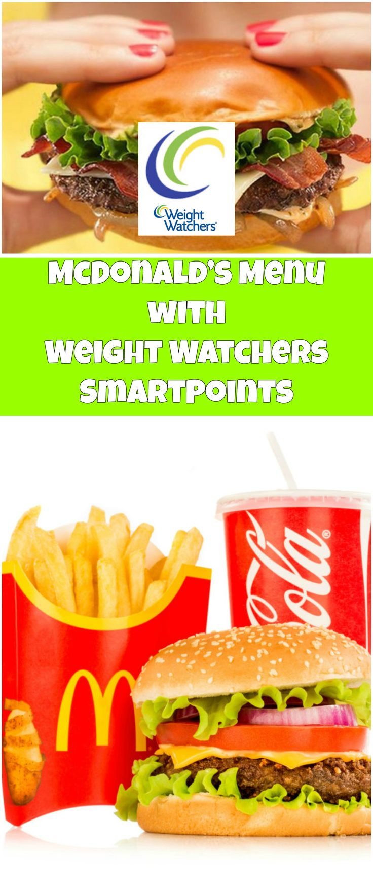 McDonald's+Menu+with+Weight+Watchers+SmartPoints