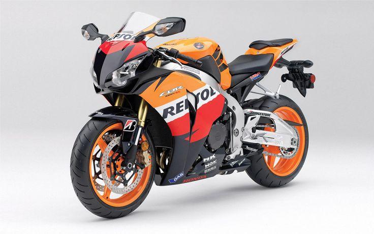 Repsol Honda motorcycle