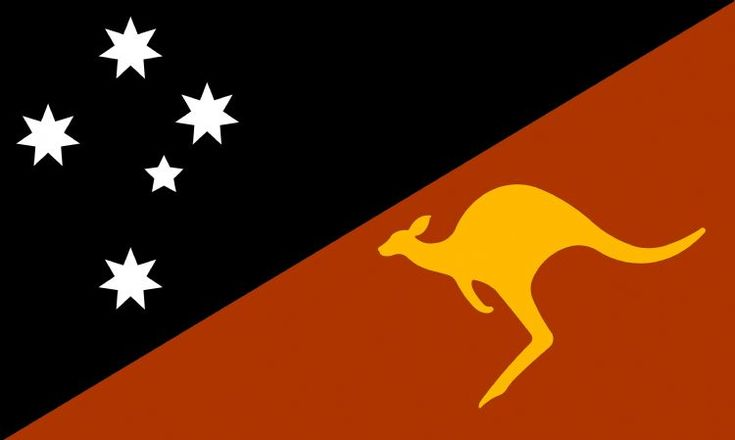 The+Southern+cross+and+golden+kangaroo+and+using+the+aboriginal+flag+colours+of+black+gold+and+red.+The+red+being+a+red+ochre+colour+to+represent+the+soil+of+this+land.+Flag+proportions+2:3