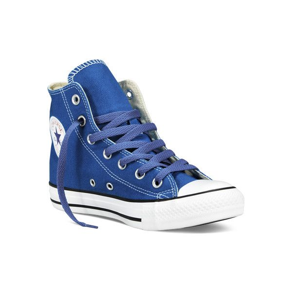 6b05ff02f32 Converse Chuck Taylor All Star Fresh Colors – blue Sneakers ( 45) ❤ liked  on Polyvore