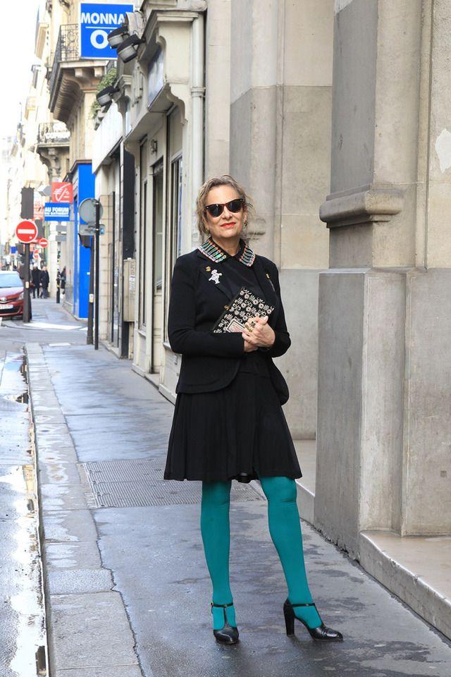 パリのおしゃれマダムのファッションと名言。シニア女性の人生観を捉えたスナップ集 13枚目の写真・画像   ファッショントレンドニュース FASHION HEADLINE