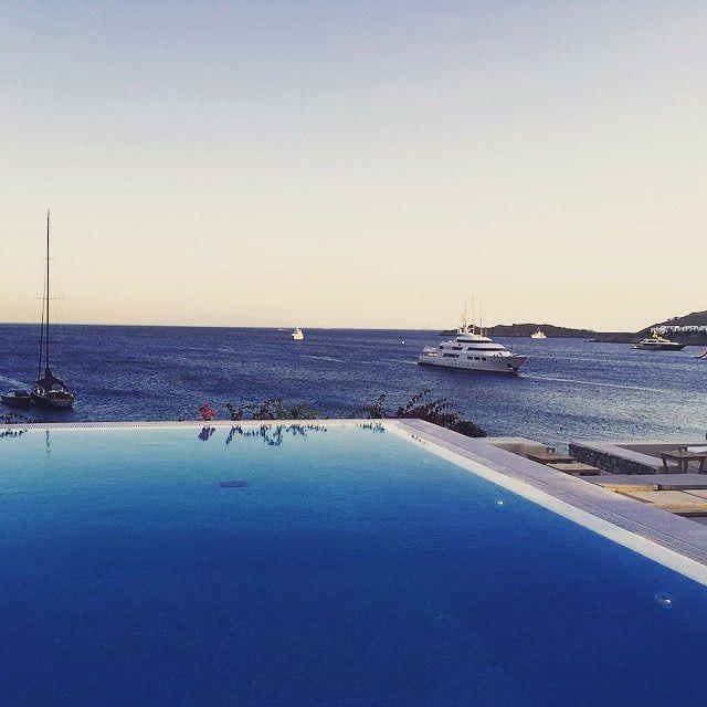 Youo dive me crazy, when the sea meets the sky. @Santa Marina Resort & Villas, #Mykonos