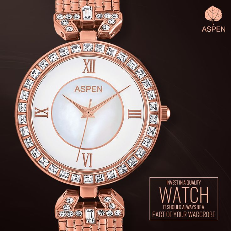 Here's an exclusive #AspenStyleTip you can't live without! #aspen #watch #fashion #women #style #rosegold