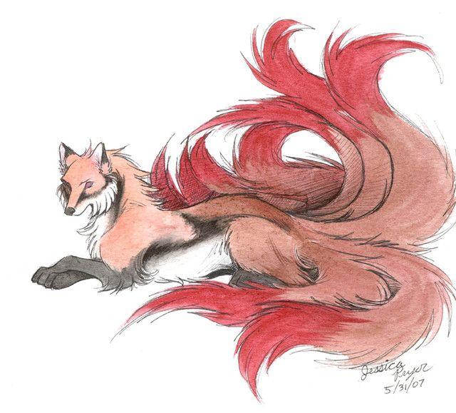 Japanese Nine-Tailed Fox Legend | Kitsune The Nine-Tailed Fox