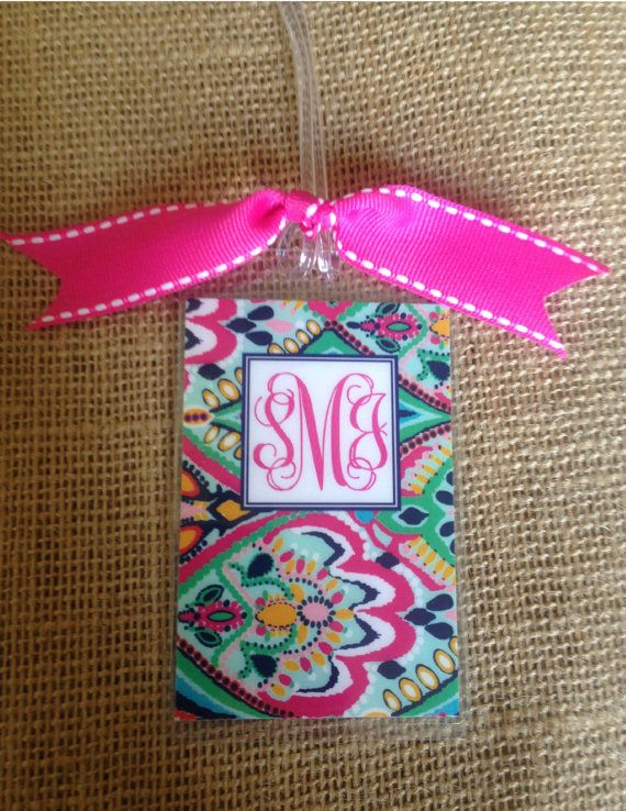 Luggage Tag Luggage Tag Personalized Ikat by PaisleyChickInks, $5.00