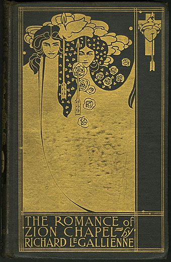 Cover by Will Bradley (1868–1962): Covers Book, Book Covers Design, Art Nouveau, Le Gallienn, Romances, Beauty Book, Zion Chapel, Art Deco, New Design