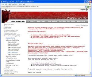 Category:OWASP WebGoat Project
