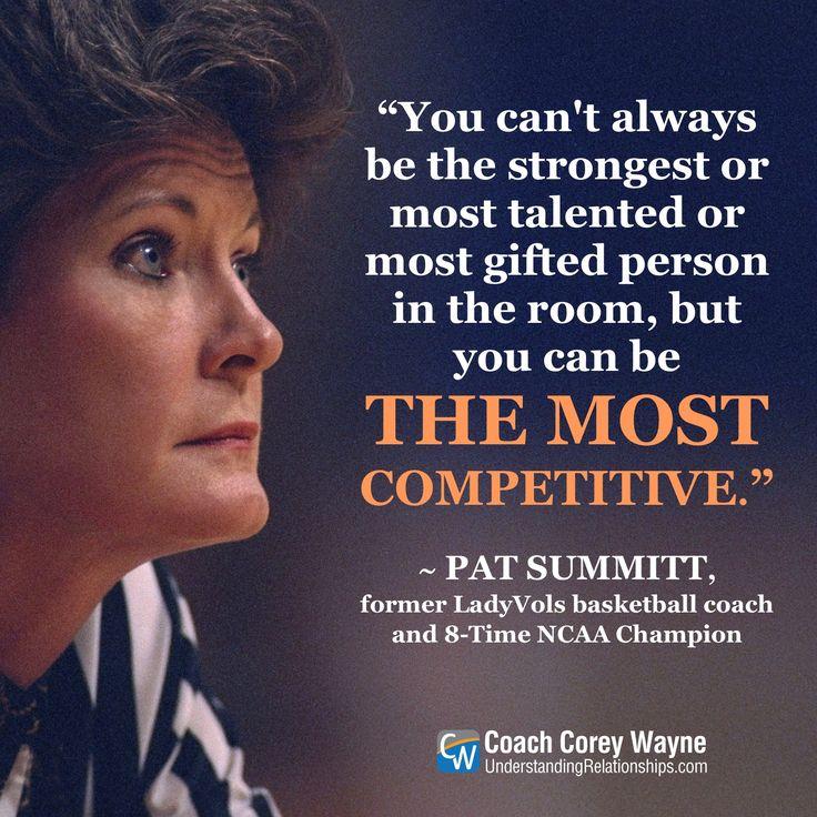 Pat Summitt Quotes