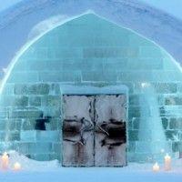La portada del nuevo catálogo de #Affari del hotel de hielo en el norte de #Suecia #AW2014 #estilonordico