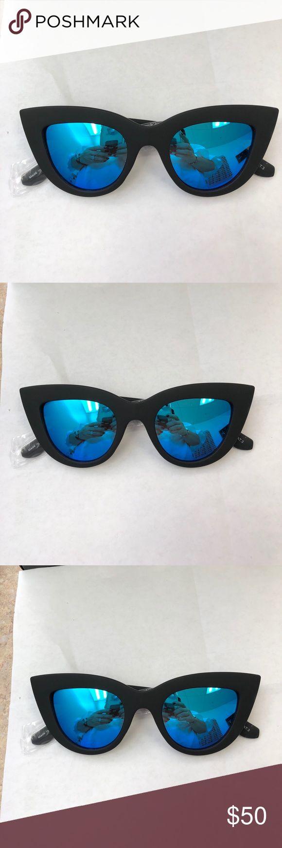 Quay sunglasses kitti Quay Australia sunglasses kitti black blue Quay Australia Accessories Sunglasses