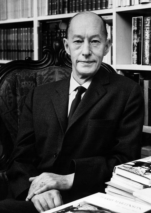 """Eyvind Johnson (1900-1976), Swedish writer and author. """"for a narrative art, farseeing in lands and ages, in the service of freedom"""""""