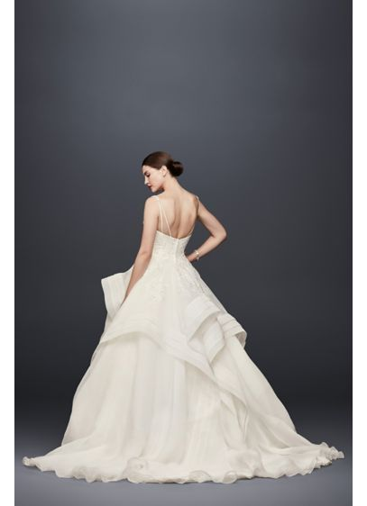 e935d96b36 Truly Zac Posen Horsehair Tier Skirt Wedding Dress ZP341835 ...