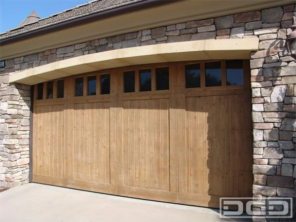 22 best california dream garage doors images on pinterest for Wood veneer garage doors