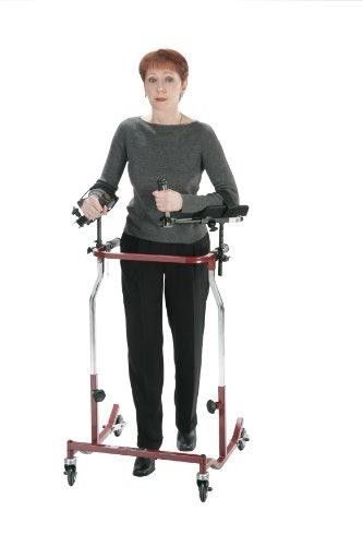 Wenzelite Forearm Platforms for all Wenzelite Posterior and Anterior Safety Rollor and Gait Trainers  These comfortable #Forearm #Platforms provide comfortable support for users that cannot hold onto traditional handgrips. The platforms can be mounted anywhere on the handlebars to accommodate each user's weight bearing needs.