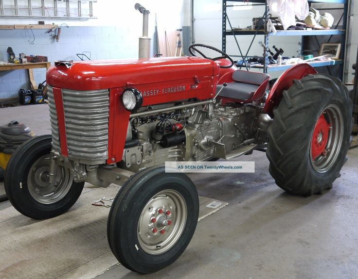 Massey Ferguson Mf 50 : Massey ferguson ☼ tractor mania pinterest