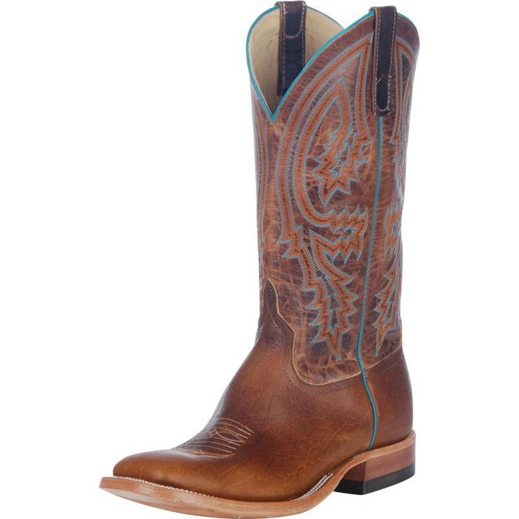 Anderson Bean Men's Tobacco Yeti Brass Explosion Cowboy Boots - HeadWest Outfitters
