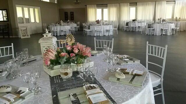 Protea, vintage, farm themed wedding @ Oak House venue in Cullinan