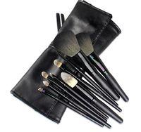 Regalos gratis! 2015 nueva marca de 9 unids pinceles de maquillaje profesional determinado de lana de maquillaje cepillo herramientas cosmética fundación Kit de cosméticos 3ce