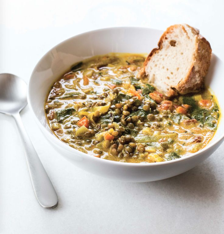 Chef Michael Smith's Golden, French Lentil Stew