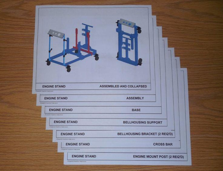 Stand Designs Quiz : Best engine test stand images on pinterest
