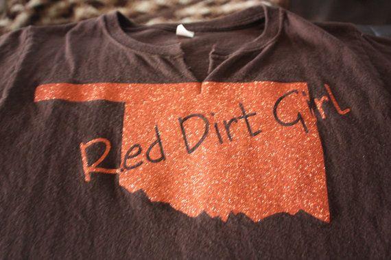 Oklahoma Red Dirt Girl T-shirt