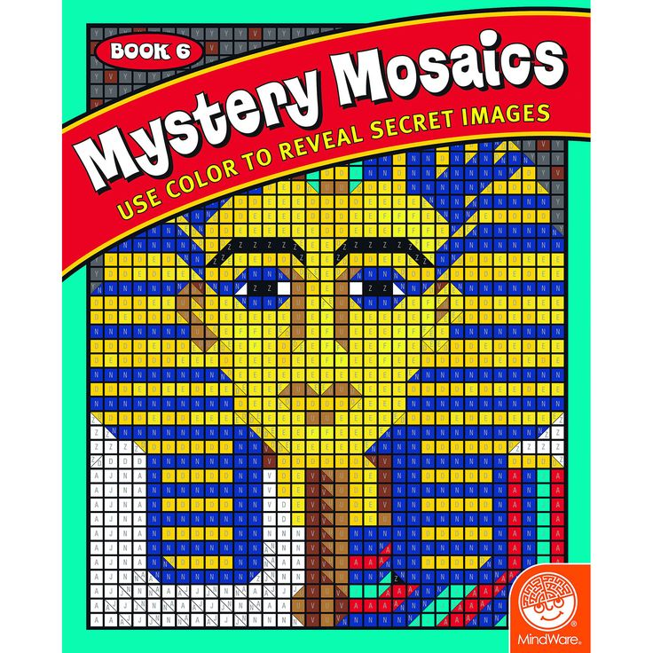 Mystery Mosaics Book 6