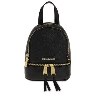 MICHAEL by Michael Kors Rhea Zip Extra Small Black Backpack