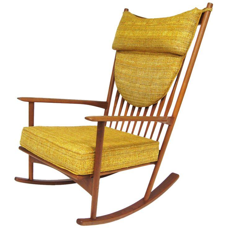 Hans Olsen Rocking Chair. Retro FurnitureFurniture ChairsArm ... Gallery