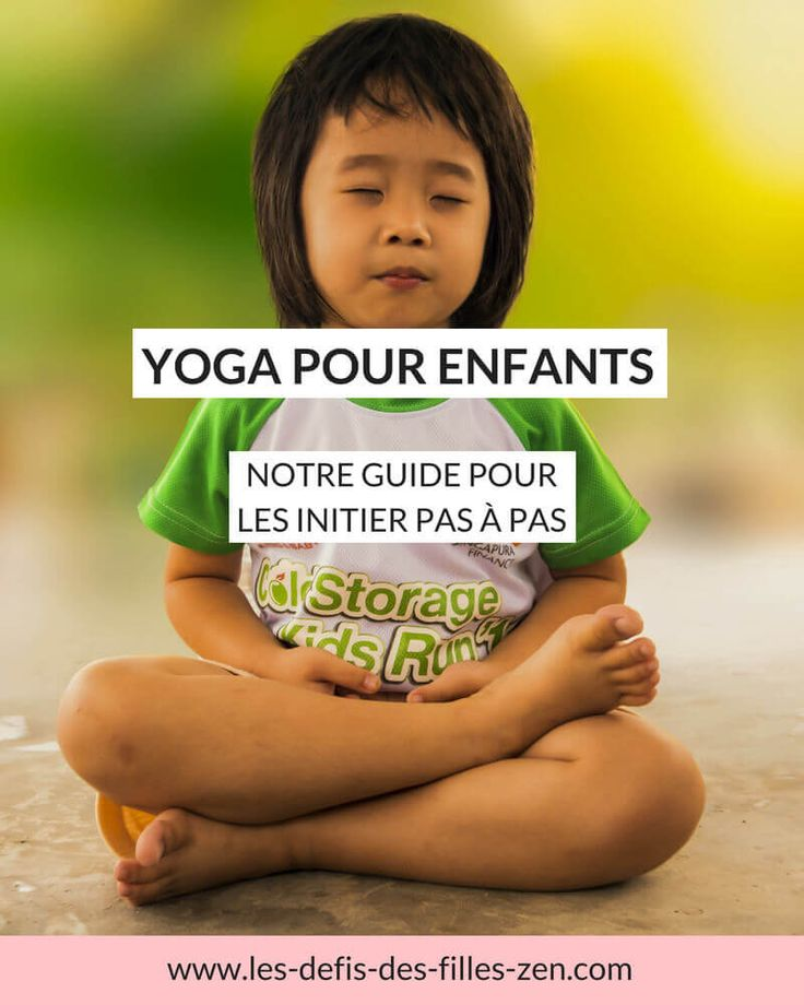 Yoga for children: our guide to introduce them step by step