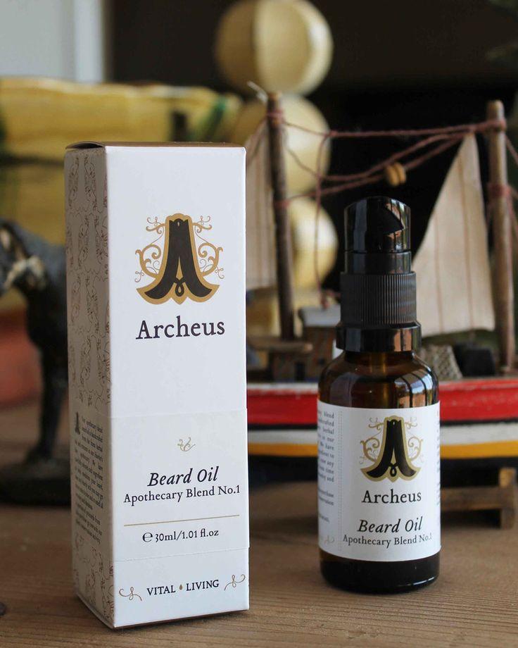 Beard Oil - Apothecary Blend No.1