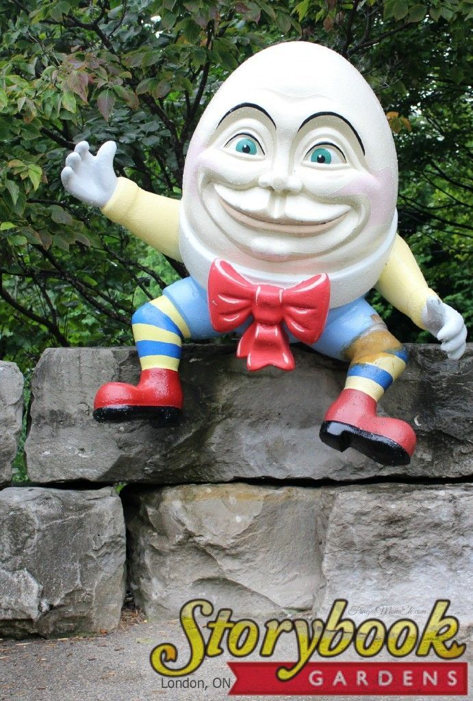 Storybook Gardens in London, Ontario is the perfect place for the family filled with classic storybook characters.   London, ON