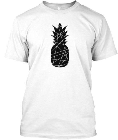 Men's Black Pineapple Shirt