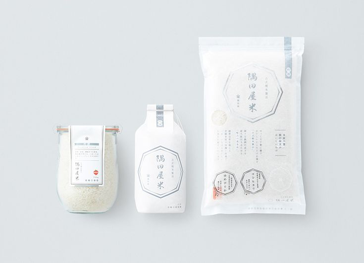 creative rice #packaging #designs #Japanese Designから) PD