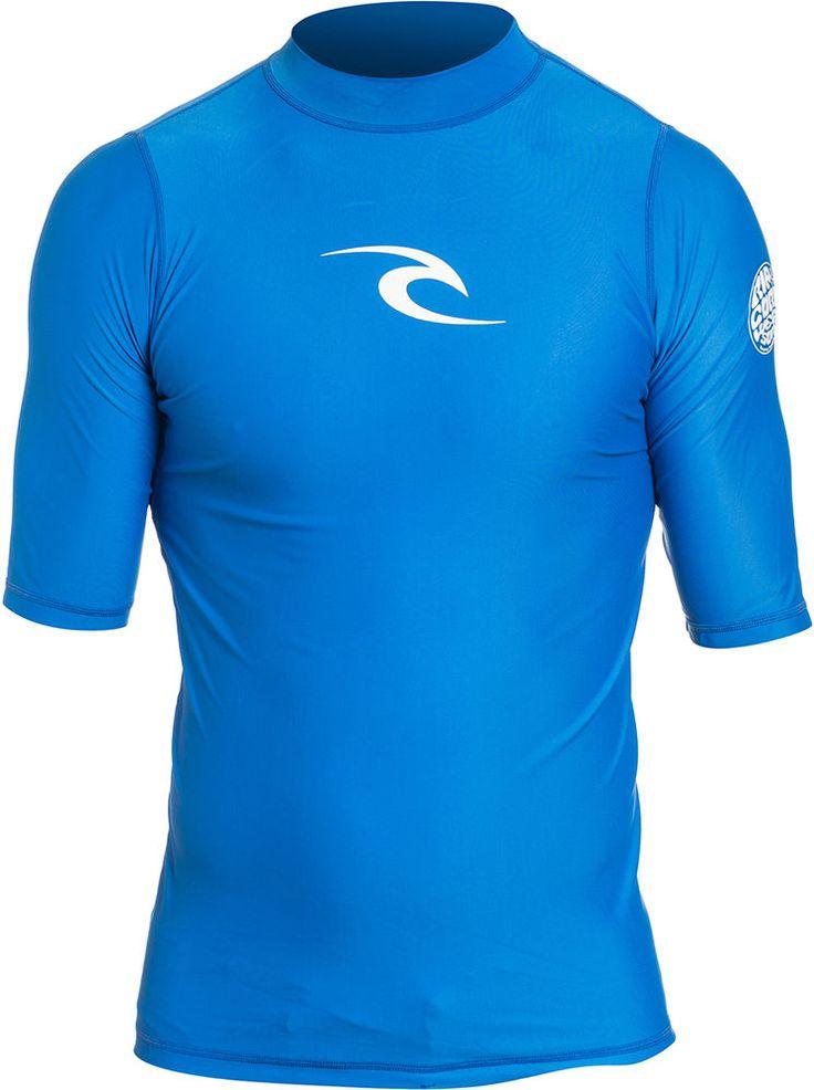 RIP CURL COMP SS Lycra 2016 blue UV Shirt