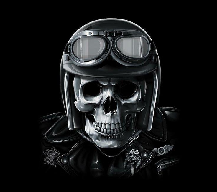 Harley Skull rider