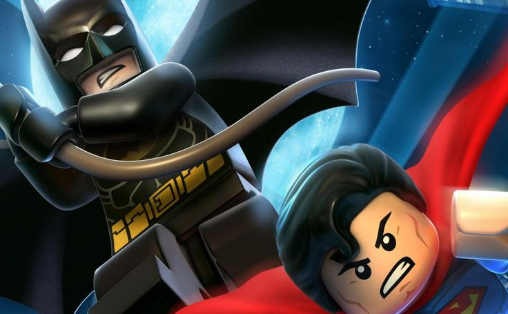 Lego Batman & Superman HD Wallpaper