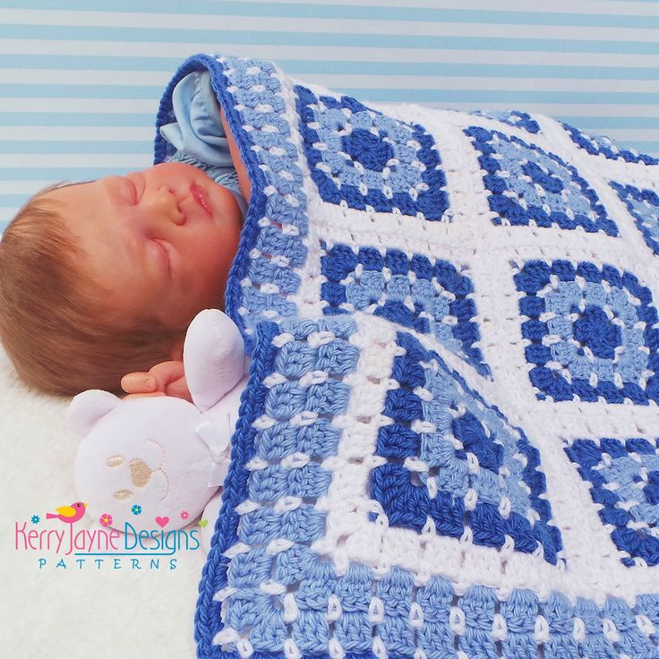 how to make a baby boy in blanket