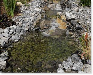 Outdoor Water Features by Isle Group Residential landscaping company. We specialize in Residential Landscaping, Commercial Landscaping, Industrial Landscaping and Landscape Design.