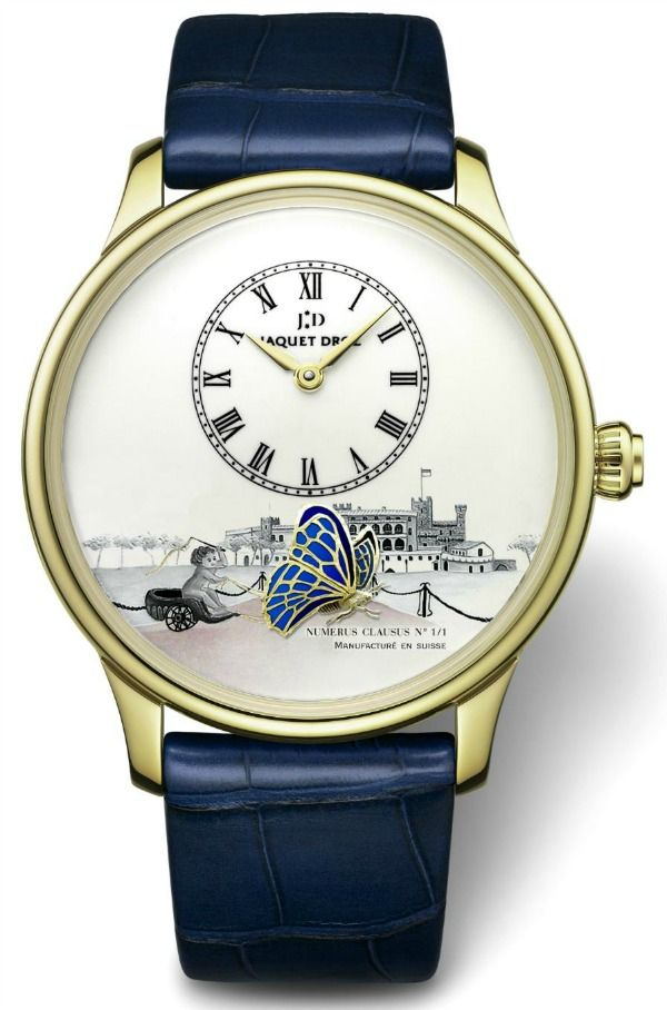 Only Watch 2013 Auction: Full List Of Piece Unique Watches   watch auctions sales Jacquet Droz The Loving Butterfly