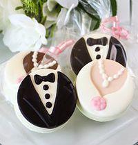 Bride & Groom Oreo Cookies