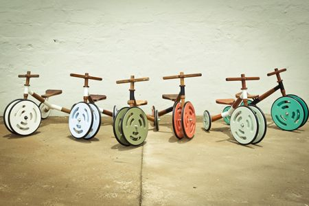 Wood for Good- #local #South #African #NGO has produced the coolest ever #kiddies #tricycle.