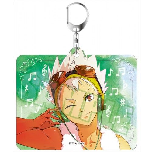 King of Prism by PrettyRhythm Acrylic Key Ring Kaduki Nishina Music Ver.