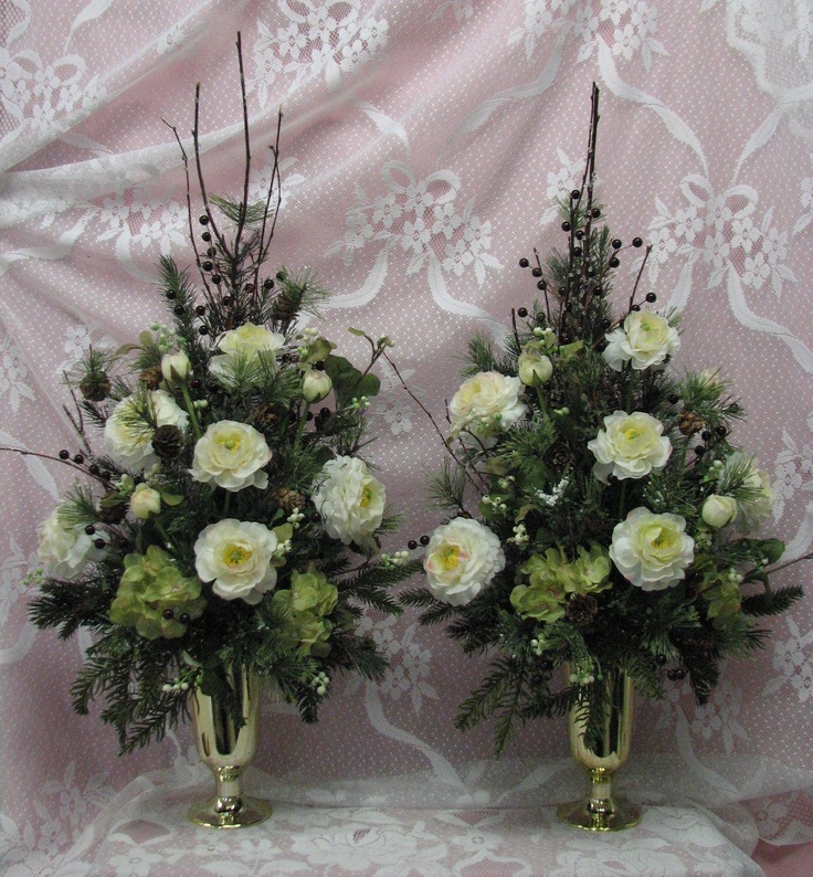 Silk Flower Arrangements Church Altar: 17+ Images About Flower Arrangements For Church On