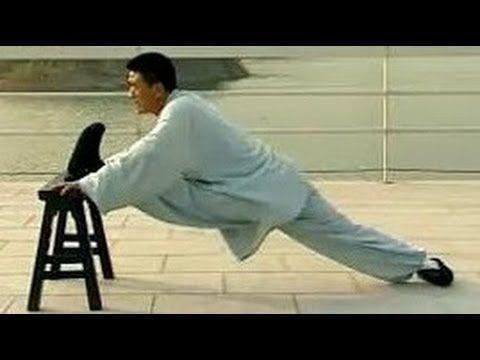 ▶ Shaolin Kong fu Basic Training 4: stretching training methods - YouTube
