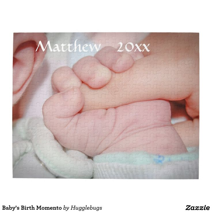 Baby's Birth Momento